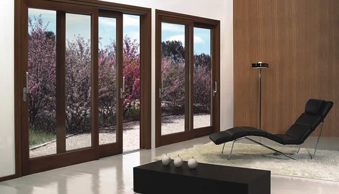 Fabbricazione di infissi o serramenti in alluminio legno for Infissi pvc legno