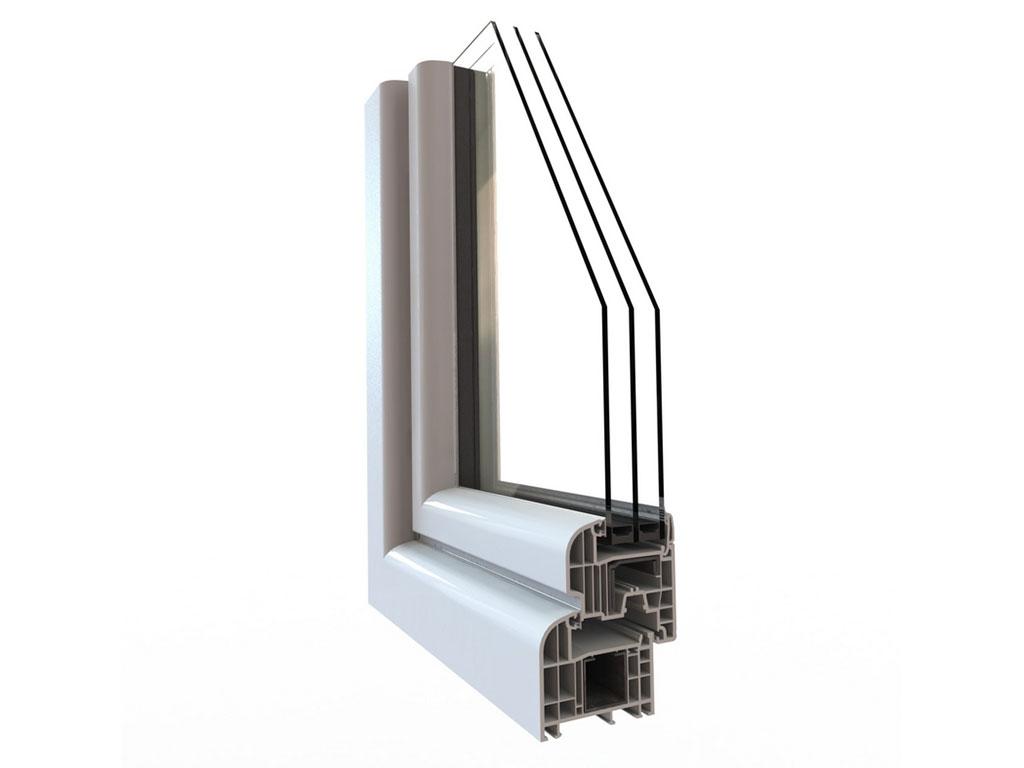 Finestre in pvc ad alto isolamento acustico coccia c - Finestre isolamento acustico ...